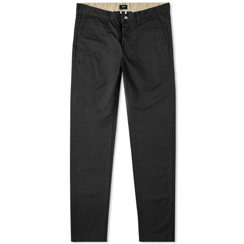 CHINO 85 SLIM TAPERED BLACK